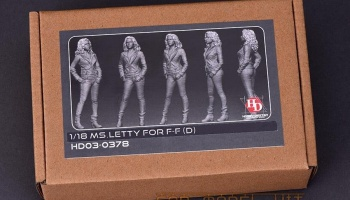 MS.LETTY For F-F (D) 1/18 - Hobby Design
