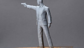 Mr. Jason Statham For F-F (H) 1/18 - Hobby Design