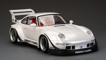 "RWB Porsche 993 Widebody Kit For Ver.""Army Girl"" - Hobby Design"