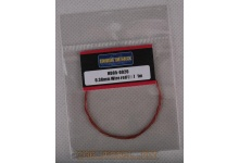 Drát 0.38mm Wire (Red) 1m - Hobby Design