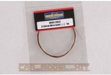 Drát 0.38mm Wire (Gold) 1m - Hobby Design