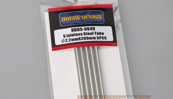 Stainless Steel Tube 2.2mm*200mm - Hobby Design