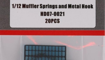 Muffler Springs and Metal Hook - Hobby Design