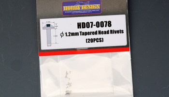 Tapared Head Rivets 1,2mm - Hobby Design