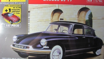 Citroen DS 19 + Cabrio Sonderedition - Heller