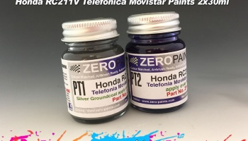 Honda RC211V Telefonica Movistar Paints 2x30ml - Zero Paints