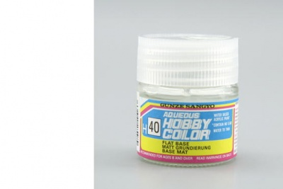 Hobby Color H 040 - Flat Base - Gunze