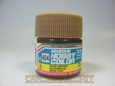 Hobby Color H 404 - Khaki Brown - Khaki hnědá - Gunze