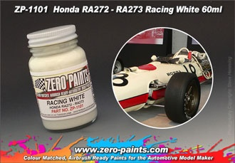 Honda RA272 - RA273 Racing White - Zero Paints