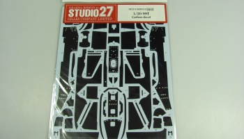 Lotus 99T Carbon decal