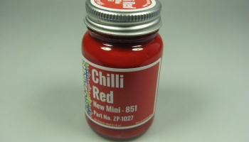 New Mini Chili Red - Zero Paints