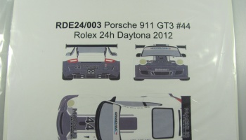Porsche 911 GT3 #44 Rolex 24h of Daytona 2012 - Racing Decals 43