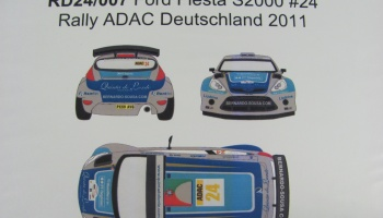 Ford Fiesta S2000 #24 Rally ADAC Deutschland 2011 - Racing Decals 43
