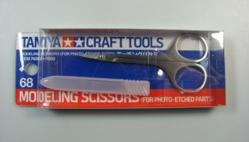 Modeling Scissors for Photo Etched Parts - Tamiya
