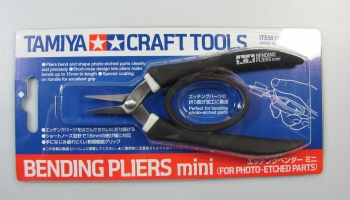 Bending Pliers for Photo Etched Parts - Tamiya