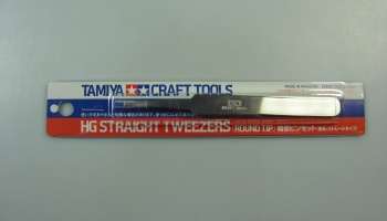 Straight Tweezers - Tamiya