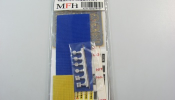 Flexible Seat Belt Blue - Model Factory Hiro