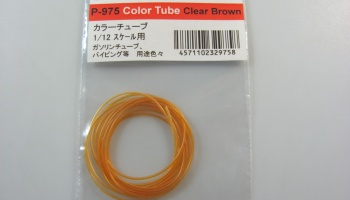 Tube Color Clear Brown for 1/12 - Model Factory Hiro