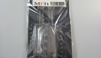Oval Funnel Mesh 1/12 - Model Factory Hiro