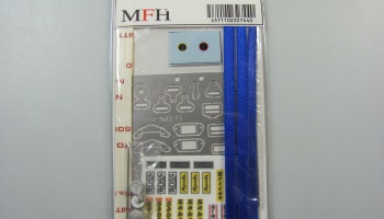 Seat Belt Set Blue 1/12 - Model Factory Hiro