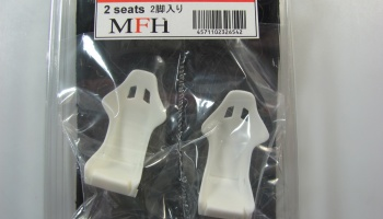 Bucket Seat Set Type S Black - Model Factory Hiro