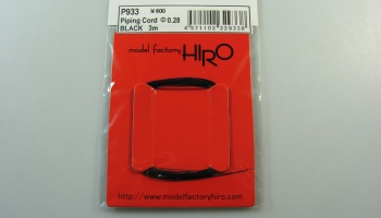 Piping Cord 0,28mm Black - Model Factory Hiro