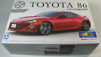 Toyota 86 Lightning Red - Aoshima