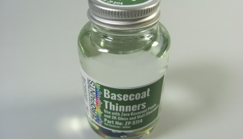 Basecoat Thinners 250ml - Zero Paints