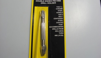 Double Ended Pin Vise Drill Holder - Maxx