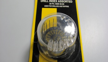 20 Assorted Drills in Dome - Maxx