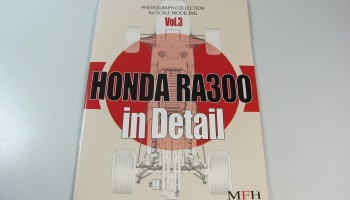 Honda RA300 in Detail - Model Factory Hiro