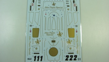 Lotus 72E Full Sponsor - Tabu Design