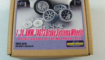 BMW Z4 GT3 Brake System + Wheels - Hobby Design