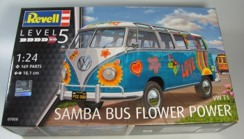 VW T1 Samba Bus Flower Power - Revell