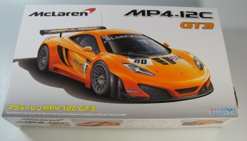 Mclaren MP4-12C GT3 Crumpled Box - Fujimi
