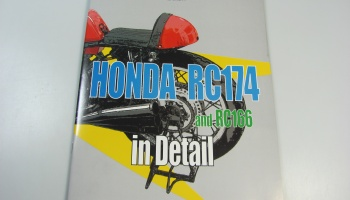 Honda RC174 and RC166 - Model Factory Hiro