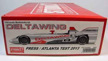 Delta Wing Atlanta Test 2013 - Studio27