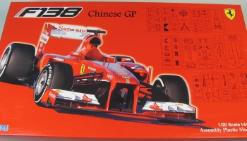 Ferrari F138 China Grand Prix - Fujimi