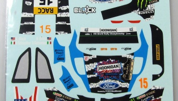Ford Fiesta K.Block Rally RACC 2014 - COLORADODECAL