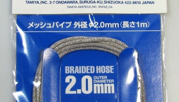 Mesh Pipe 2mm - Tamiya