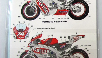Honda RC211V Fortuna Moto GP 2002 - Studio27
