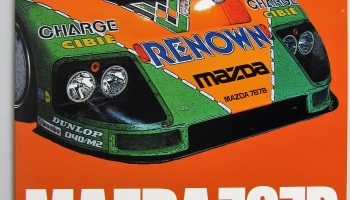 Mazda 787B in Detail - Model Factory Hiro