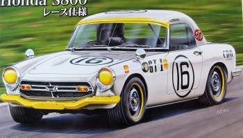 Honda S800 Race Edition - Fujimi