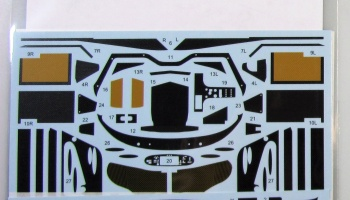 Porsche 911 GT1 Carbon Decal - Studio27
