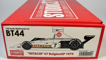 Brabham BT44 Hitachi #7 Belgian GP 1974 - Studio27