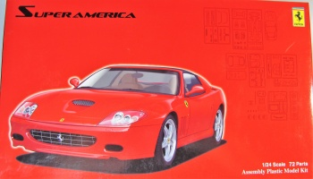 Ferrari Super America + Windows Mask - Fujimi