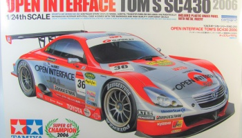 Open Interface SC430 Super GT Champion 2006 - Tamiya