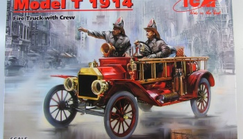 Ford Model T 1914 Fire Truck - ICM