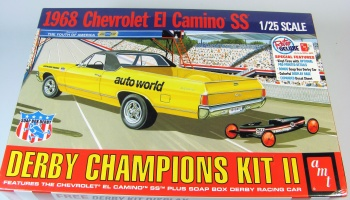 Chevy El Camino SS Derby Champion Race Car - AMT