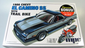 Chevy El Camino SS + Trail Bike - MPC